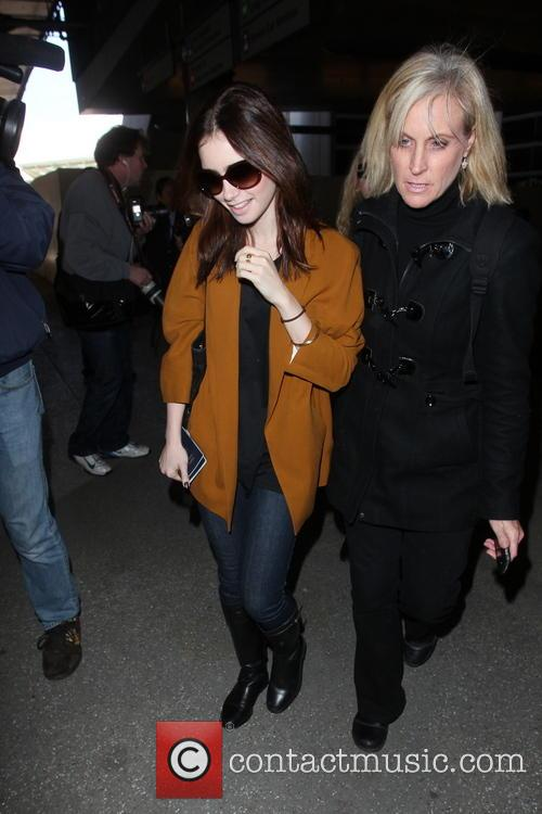 Lily Collins and Jill Tavelman 7