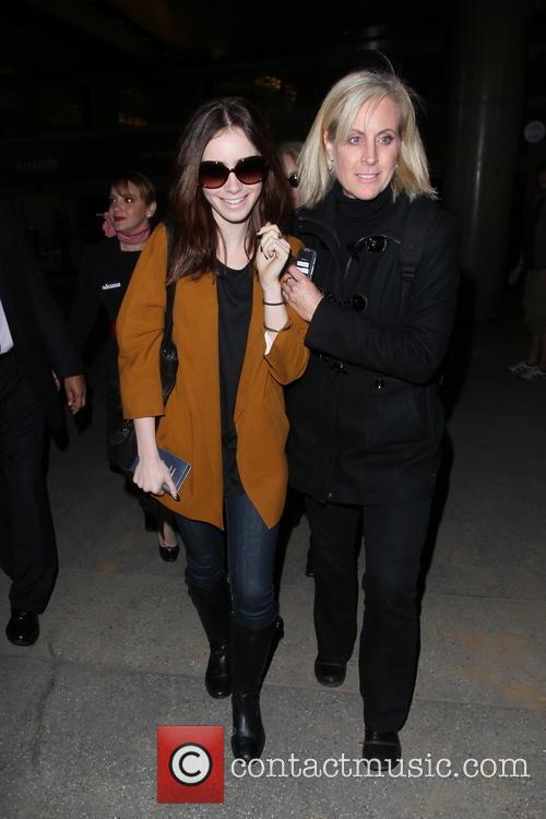 Lily Collins and Jill Tavelman 8