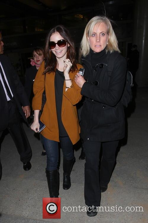 Lily Collins and Jill Tavelman 9