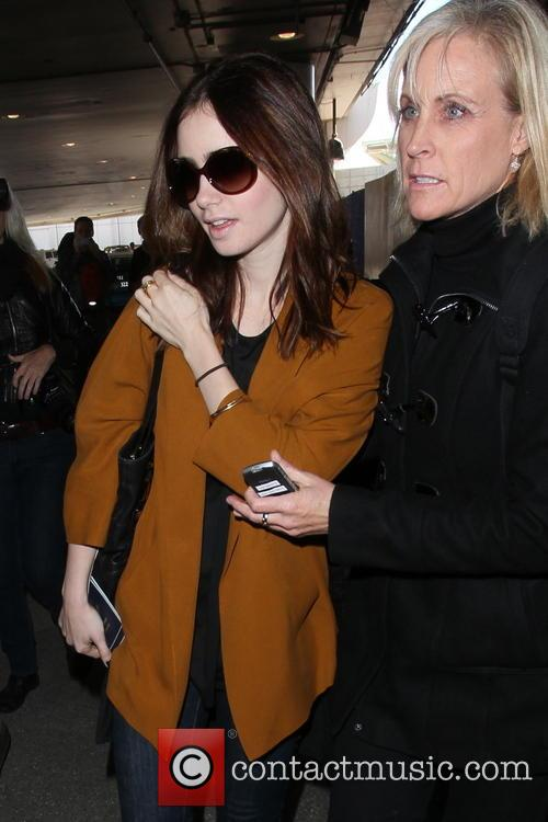 Lily Collins and Jill Tavelman 11