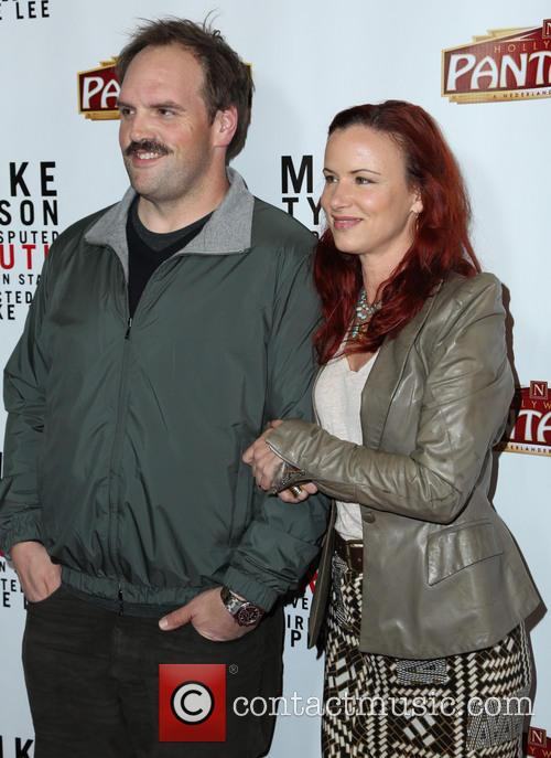 Ethan Suplee and Juliette Lewis