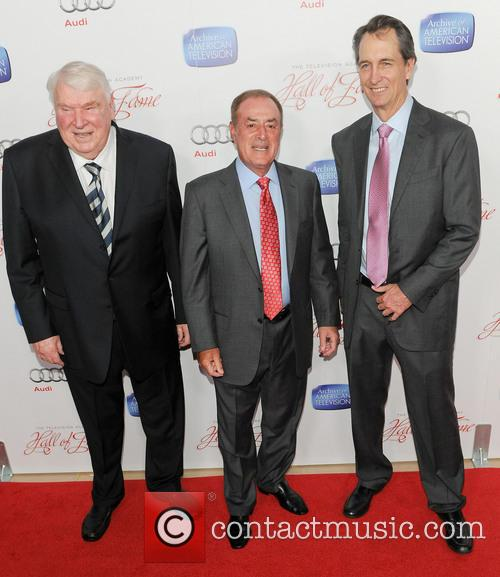 Al Michaels, John Madden and Cris Collinsworth 2