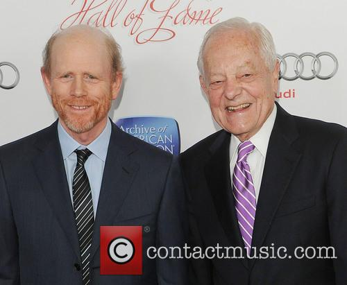 Ron Howard and Bob Schieffer