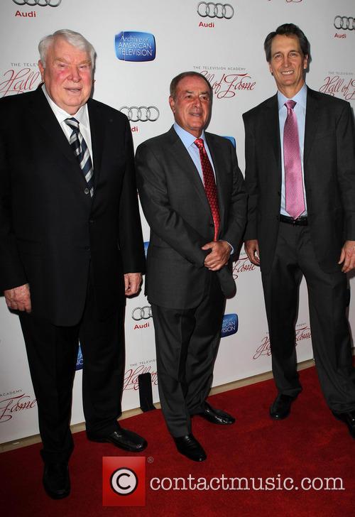 Al Michaels, John Madden and Cris Collinsworth 7