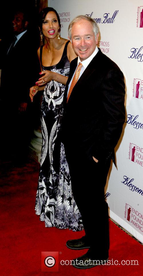 Padma Lakshmi and Stephen Schwarzman 3
