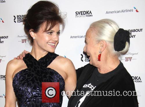 Carla Gugino and Rosemary Harris 5
