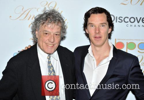 Benedict Cumberbatch and Tom Stoppard