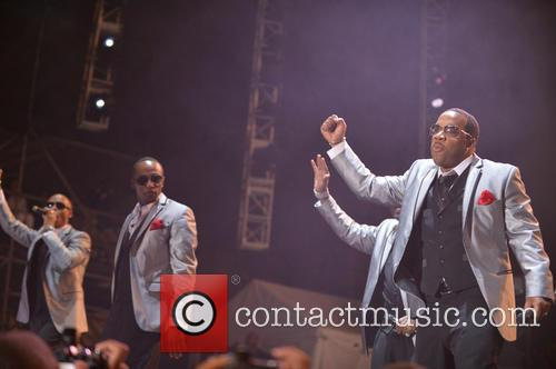 New Edition, Ricky Bell, Ralph Tresvant and Michael Bivins 2