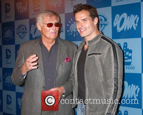 Adam West and Antonio Sabato Jr