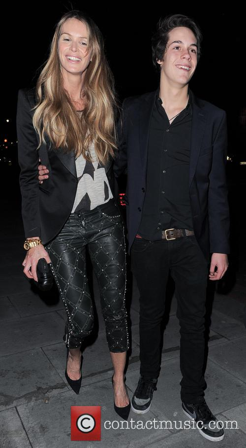 Elle Macpherson and Arpad Busson