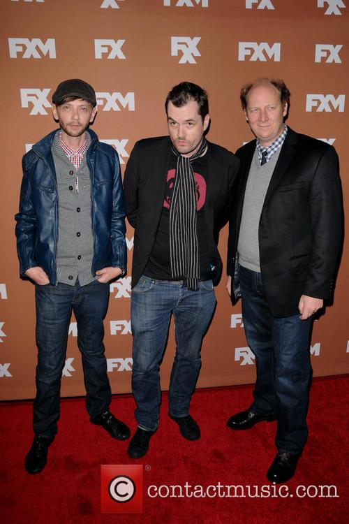 Dj Qualls, Jim Jefferies and Dan Bakkedahl