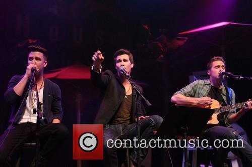 Logan Henderson, James Maslow, Kendall Schmidt and Of Big Time Rush 4