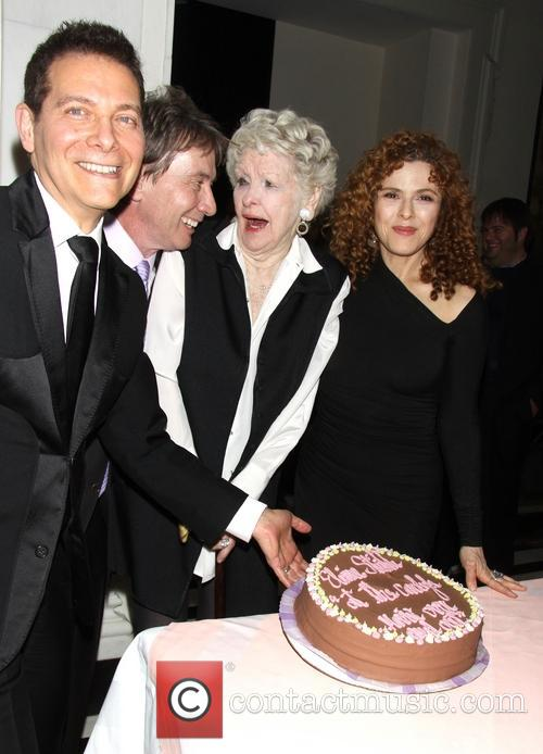 Michael Feinstein, Martin Short, Elaine Stritch and Bernadette Peters