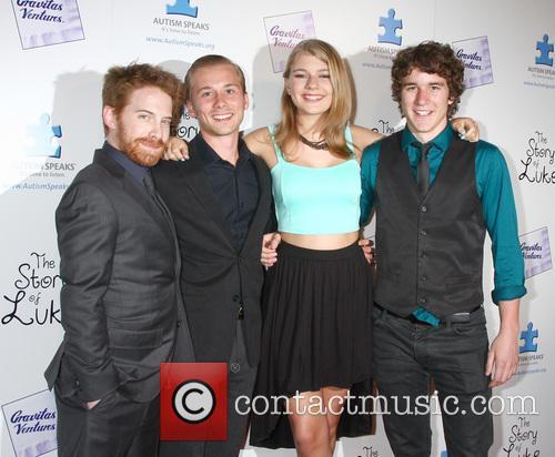 Seth Green, Lou Taylor Pucci, Mackenzie Munro and Tyler Stentiford