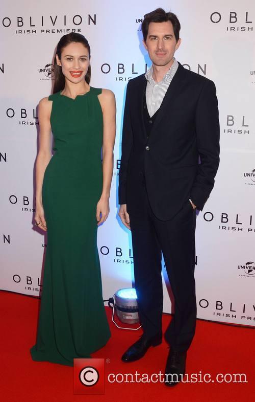 Olga Kurylenko and Joseph Kosinski
