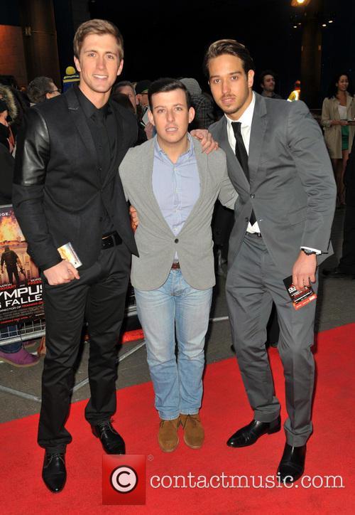 Drake, Daniel Osbourne and James Lock