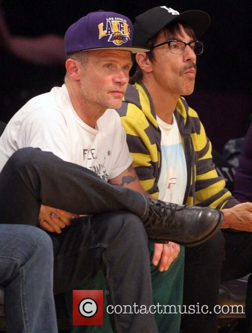 Flea, Anthony Kiedis and Red Hot Chilli Peppers
