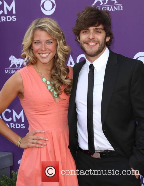 Lauren Akins and Thomas Rhett