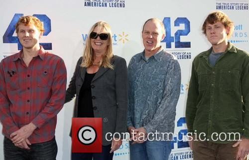 Brian Helgeland and Family
