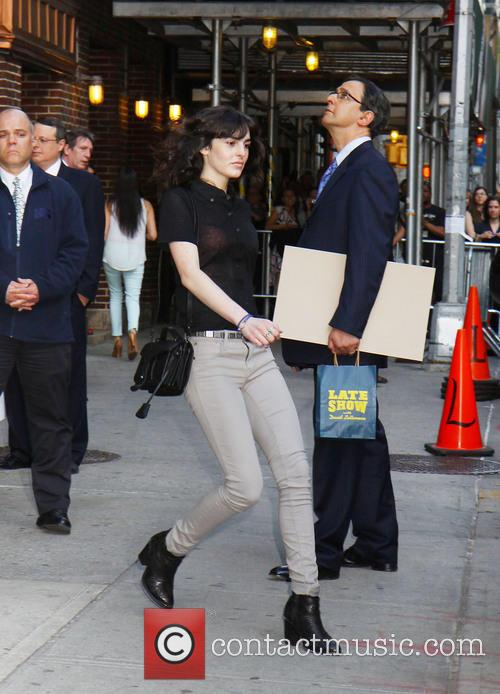 Ali Lohan and Ed Sullivan Theater 2