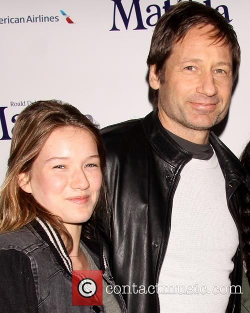 David Duchovny and Madelaine West Duchovny 9