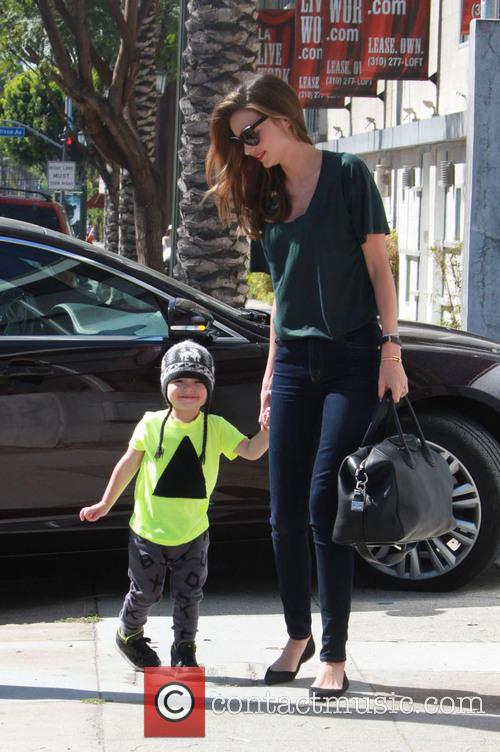 Miranda Kerr and Flynn Christopher Blanchard Copeland Bloom
