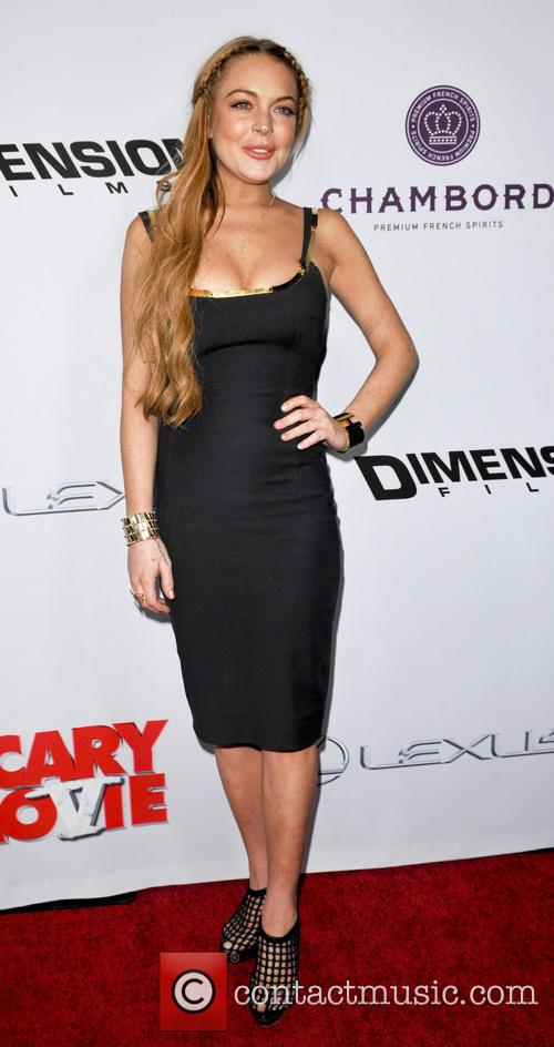 Scary Movie and Linday Lohan
