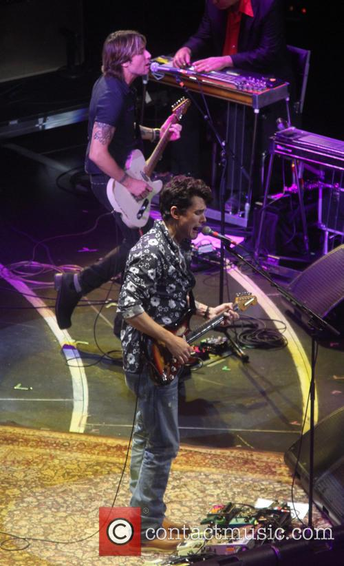 John Mayer and Keith Urban 5