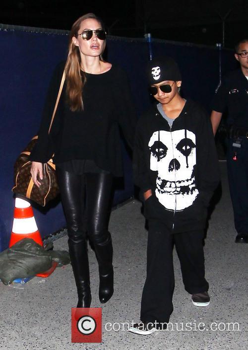 Angelina Jolie and Maddox Jolie-pitt 1