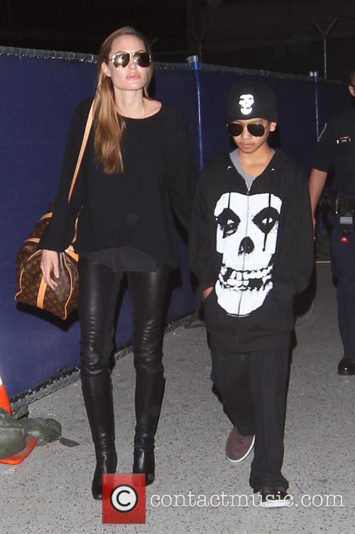 Angelina Jolie and Maddox Jolie-pitt 2