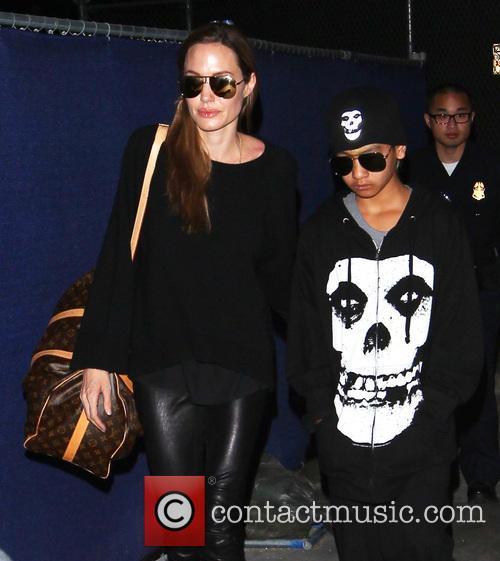 Angelina Jolie and Maddox Jolie-pitt 3