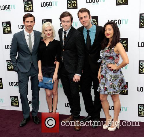 Van Hansis, Brea Grant, Kit Williamson, John Halbach, Constance Wu and Cast Of The Eastsiders