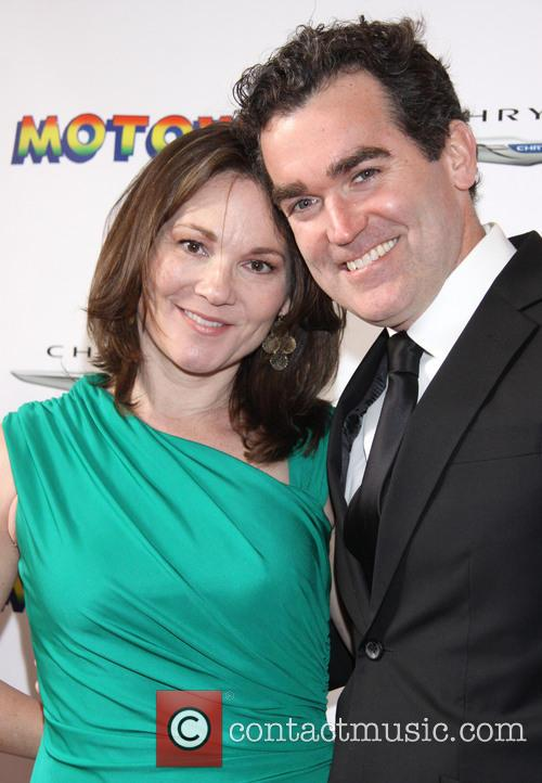 Jennifer Prescott and Brian D'arcy James