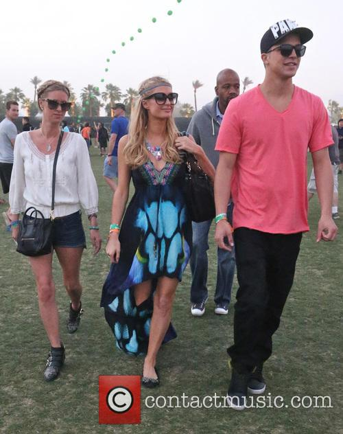 Paris Hilton, Nicky Hilton and River Viiperi