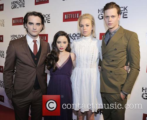 Freya, Landon Liboiron, Penelope Mitchell and Bill Skarsgard