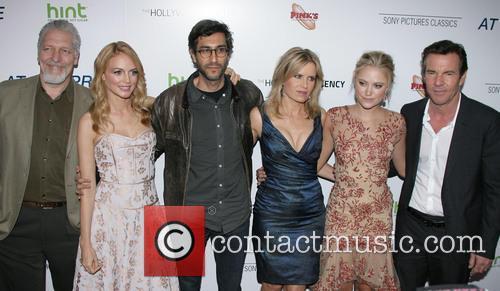 Clancy Brown, Heather Graham, Director Ramin Bahrani, Kim Dickens, Maika Monroe and Dennis Quaid 2