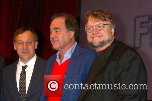 Sam Raimi, Oliver Stone and Guillermo Del Toro