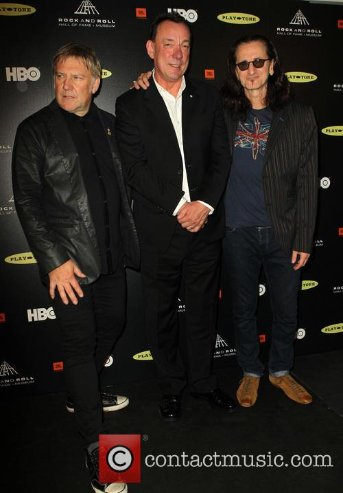 Alex Lifeson, Neil Peart and Geddy Lee 2