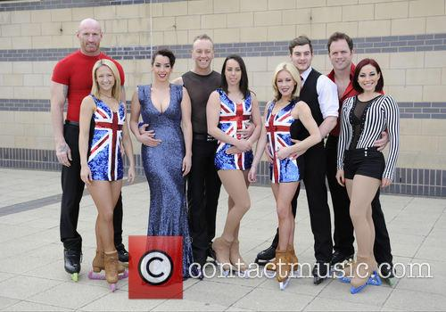 Gareth Thomas, Jenna Smith, Ruth Lorenzo, Daniel Whiston, Beth Tweddle, Matt Lapinskas, Brianne Delcourt and Kyran Bracken 1