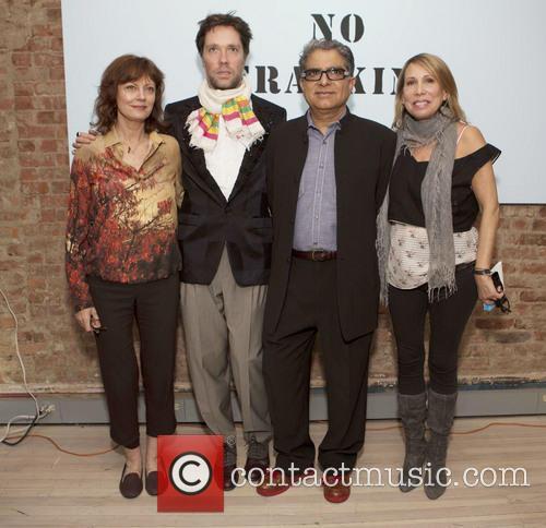 Susan Sarandon, Rufus Wainwright, Deepak Chopra and Paulette Cole