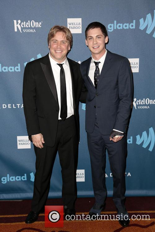 Stephen Chbosky and Logan Lerman