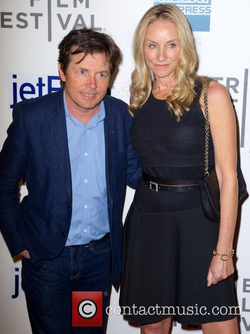 Michael J Fox and Tracy Pollan