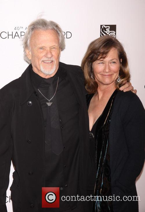 Kris Kristofferson and Lisa Meyers Kristofferson