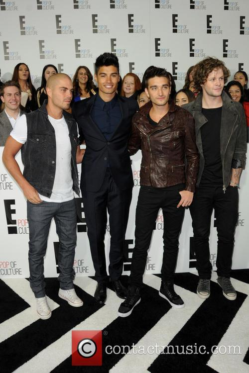 Jay Mcguiness, Siva Kaneswaran, Nathan Sykes, Max George, Tom Parker and The Wanted 2