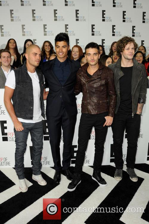 Jay Mcguiness, Siva Kaneswaran, Nathan Sykes, Max George, Tom Parker and The Wanted 3