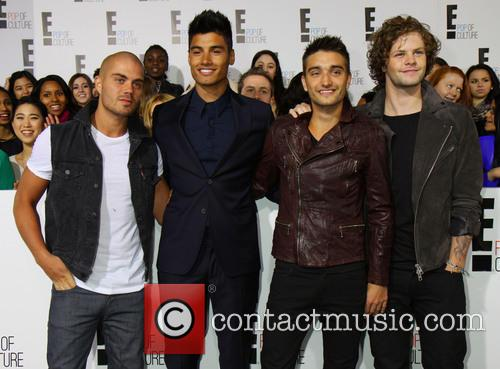 Jay Mcguiness, Siva Kaneswaran, Nathan Sykes, Max George, Tom Parker and The Wanted 4