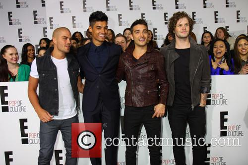 Jay Mcguiness, Siva Kaneswaran, Nathan Sykes, Max George, Tom Parker and The Wanted 5