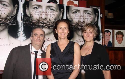 Colm Toibin, Fiona Shaw and Deborah Warner