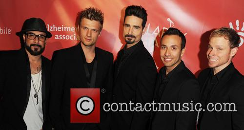 Aj Mclean, Nick Carter, Kevin Richardson, Howie Dorough, Brien Littrell and Backstreet Boys