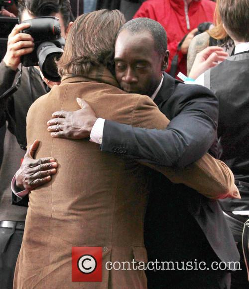 Andy Garcia and Don Cheadle